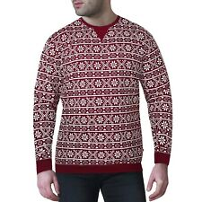 Mens Womens Fairisle Nordic Christmas Xmas Festive Jumper Sweater Sweatshirt Top