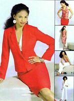 McCalls Sewing Pattern 4843 Misses Jacket Top Pants Skirts Size 6-12 Uncut