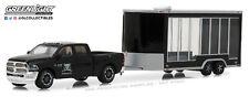 1:64 GreenLight *HITCH & TOW 13 GRAVEYARD CARZ Black RAM 2500 & Display Trailer