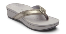 Women Vionic Pacific High Tide 380hightide Pewter Slip on Flip Flop Sandal Shoes 7