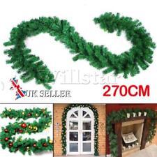 Décorations de Noël et sapins verts sans marque noël pour la maison