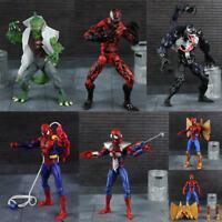 6'' Marvel Movie Spider Man Venom Carnage LIZARD PVC Action Figure Hot Toys Gift