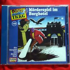ein Fall für TKKG - 109 - Mörderspiel im Burghotel - Hörspiel-CD Europa