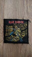 Iron Maiden Piece of Mind 1983 Original Vintage Patch NWOBHM Heavy Metal