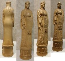 Goddess Makosh Wooden carved Statue, decorative element.