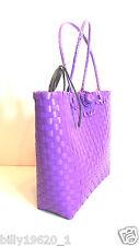 UK Summer Shopping Beach plastic box Weave Woven Shoulder Tote Bag Purse Handbag