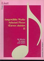 Franz Liszt ~ Ausgewählte Werke Band 2 für Klavier