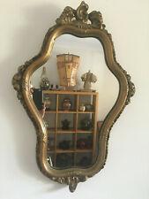 Antique Wall Mirror Art Nouveau/Baroque Wall Mirror Plaster Moulded 100%Original