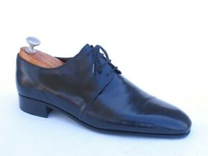 Stefano Ricci Private Collection Handmade Black Calf Derby 8 UK / 9 US $2600