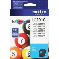 Genuine Brother LC201 Color Ink Cyan (LC201C) Single Cartridge
