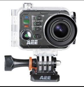 AEE Technology Action Cam S71 - 4K - Wifi-Professional Recording-Super Zoom