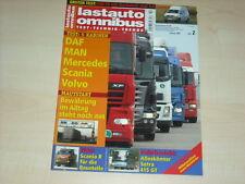 59743) Setra 415 GT - VW Bus T5 Hochdach - Lastauto Omnibus 02/2005