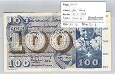 BILLET SUISSE - 100 FRANCS - 21.1.1965 - BELLE QUALITÉ !