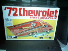 885 Mpc 1972 Chevy Racer'S Wedge Or Reg P/U Plastic Model