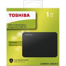Hard disk esterno 2,5 1Tb Toshiba Usb 3.0 1000Gb Autoalimentato Canvio Basics