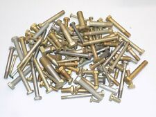"""Aviation Aircraft Hardware, """"An""""&""""Ms"""" Bolts, Lot Of 125 pcs. Variety Of Sizes"""