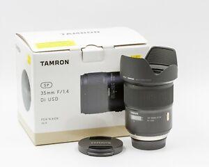 Tamron SP 35mm f/1.4 DI USD Wide Angle Lens - Nikon AF Manufacture Refurbished