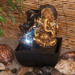Ganesh Water Fountain Indoor Water Fountain With LED Lights