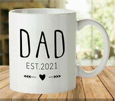 Dad EST 2021 Coffee Mug