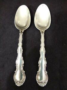"Vintage Gorham 1897 Sterling Silver Strasbourg Teaspoons 67 Grams 5 7/8"""