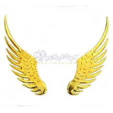 Auto 3D stickers stickers angel wings Eagle Eagle gold metal