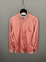 TED BAKER Shirt - Size 17 - Pink - Great Condition - Men's