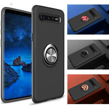 For Samsung Galaxy S10 S10e S10 Plus Stand Ring Holder Back Case Cover Bumper