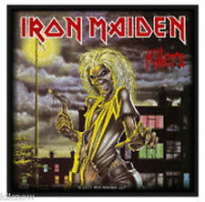 "IRON MAIDEN KILLERS PATCH 10 X 10CM (4"" X 4"")"
