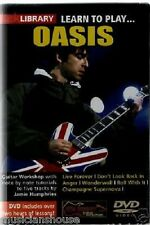 LICK LIBRARY Learn to Play OASIS WONDERWALL LIVE FOREVER Rock Lesson Guitar DVD