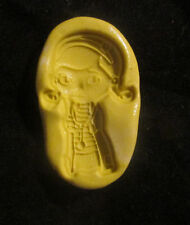 Doc Girl v3  -Flexible Silicone Mold-Cake Cookie Crafts Fondant Candy