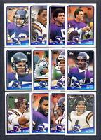 1988 Topps Minnesota Vikings TEAM SET Doleman Rookie