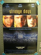 STRANGE DAYS Video Poster- FIENNES/BASSETT/LEWIS (ITCPO-1019)