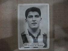 CROMO Nº11 COLLAR  ATLÉTICO DE MADRID TEMPORADA 1958-59
