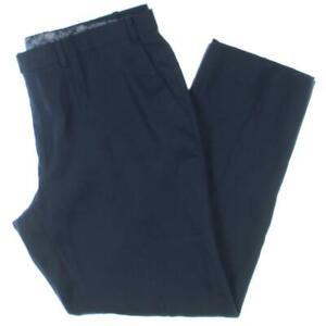 Lauren Ralph Lauren Mens Edgewood Linen Flat Front Office Dress Pants BHFO 2384