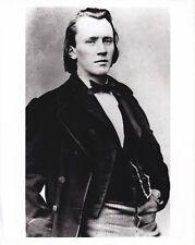 Johannes Brahms circa 1840 Tirage argentique RC postérieur 1995