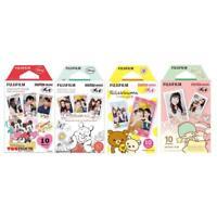 Mickey, Pooh, Rilakkuma, Twin Stars FujiFilm Instax Mini Film Polaroid 40 Photos