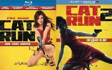 CAT RUN 1 & 2 New Sealed Blu-ray Both Films