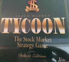 Stock Market Tycoon Game, New Still Sealed In Original 2000