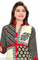 Indian Pakistani Designer Cotton Party Dress Tunic Kurti/Kurta Top Women 394