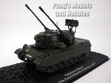 "Flakpanzer Gepard ""Cheetah anti-aircraft tank"" 1/72 Scale Diecast Model - Altaya"