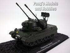 "Flakpanzer Gepard ""Cheetah anti-aircraft tank"" 1/72 Scale Diecast Model - Altaya"