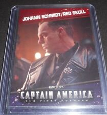 Captain America First Avenger Character Trading Card Red Skull Hugo Weaving #89