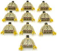 LEGO 10 STAR WARS OBI WAN KENOBI MINIFIGURE TORSOS PIECES