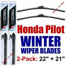 2009-2015 Honda Pilot WINTER Wiper Blades 2-Pack - Snow Ice Cold - 35220/35210