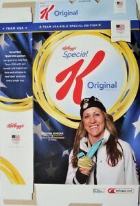 MEGHAN DUGGAN CEREAL BOX ~ Kellogg's Special Edition USA Olympics Gold ~ @LOOK@