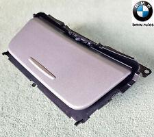 Silver BMW 1 Series E81 E82 E87 E88 Console Storage Ash Tray Lid Frame Bracket