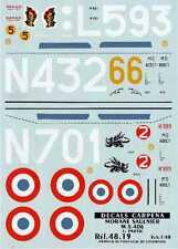 Colorado Decals 1/48 Morane Saulnier 406 Part 1 # 48019
