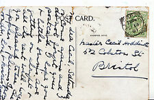 Genealogy Postcard - Family History - Hoddinott? - Colston St - Bristol   605A
