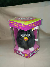 Furby Tiger Electronics  Model 70-800 New in box 1998 Black Name Witches Cat