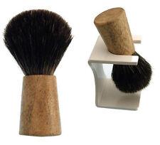 Brocha de Afeitar Dr. dittmar DE GENUINO MANGO DE MADERA Pelo De Tejón Puro 22mm